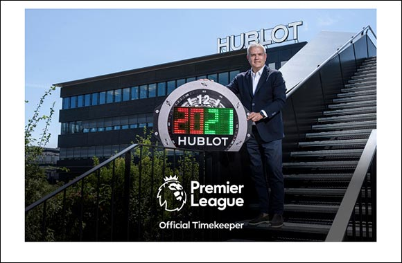 Hublot Becomes the Premier League's Official Timekeeper