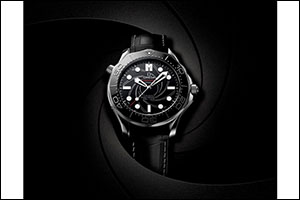OMEGA Goes Platinum-Gold For New James Bond Watch