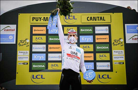 Pogacar Reclaims White Jersey and Climbs to 2nd in General Classification