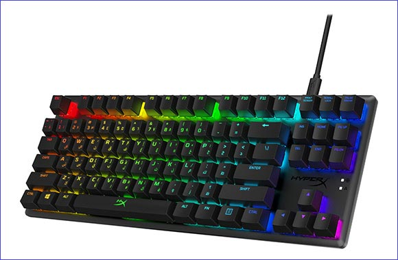 HyperX Releases First Arabic Layout Keyboard, Alloy Origins Core Tenkeyless RGB Mechanical Gaming Keyboard