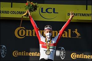UAE Team Emirates' Boy Wonder Pogacar Takes 2nd Tour De France Stage Victory