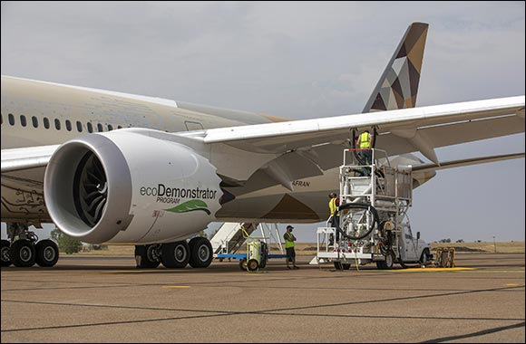 Boeing, Etihad Airways and World Energy Lift Sustainable Aviation Fuel to the Next Level on Ecodemonstrator Programme