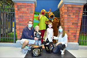 Fans Join Scooby-Doo to Celebrate His Anniversary at Warner Bros. World� Abu Dhabi