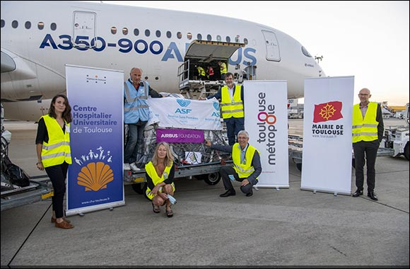 Airbus Foundation and Partners Deliver Humanitarian Aid to Beirut