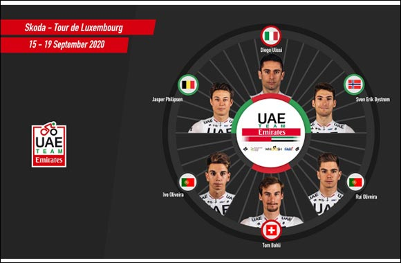 Ulissi to Lead UAE Team Emirates at the Tour of Luxembourg