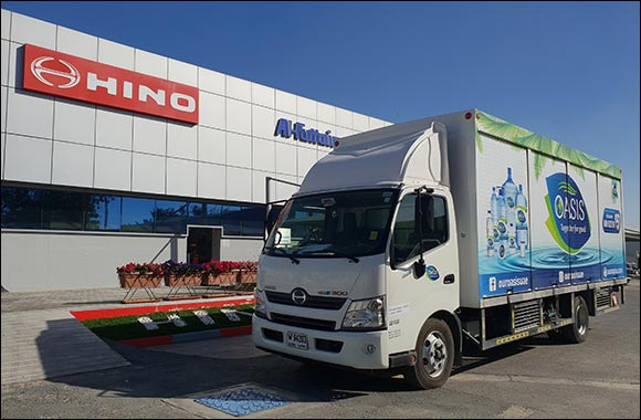 Al-Futtaim HINO Delivers Major Order of 200 Trucks  to National Food Product Company