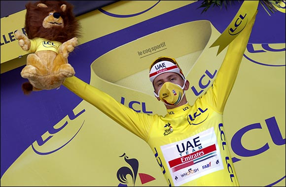 Tadej Pogacar Poised to Win Tour De France After Historic Time-trial Ride