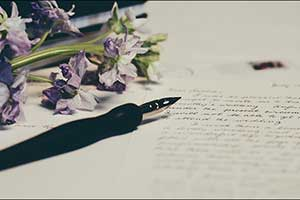 New Montegrappa Letter Writing Competition From the Emirates Airline Festival of Literature Celebrat ...