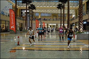 Top Spots for Bouazzaoui and Gogitidze in 10k at City Centre Mirdif Running Race