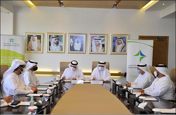 Dubai Health Authority and Dubai Healthcare City Authority Sign MoU to Strengthen Partnership