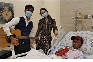 Music to Enhance Quality of Life and Healing Process of Long-Term Care Patients at Thumbay Universit ...