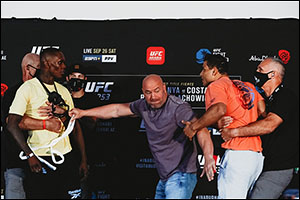 Abu Dhabi's Return to Fight Island Breaks UFC Viewership Records With Adesanya Vs Costa Face-off