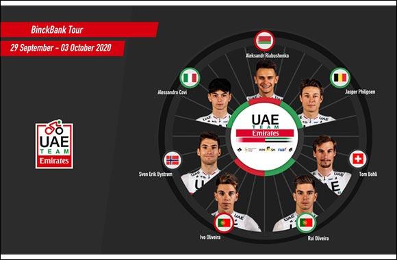 UAE Team Emirates Ready for Binckbank
