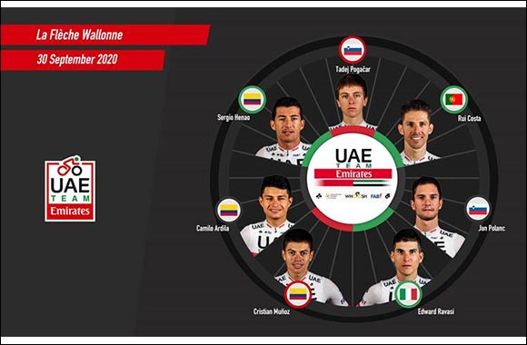 UAE Team Emirates' Tour De France Champion Tadej Pogacar Returns to Racing in the Ardennes Classics