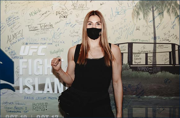 Aldana and Holm Arrive at UFC Fight Island Safe Zone Before Upcoming UFC Fight Night