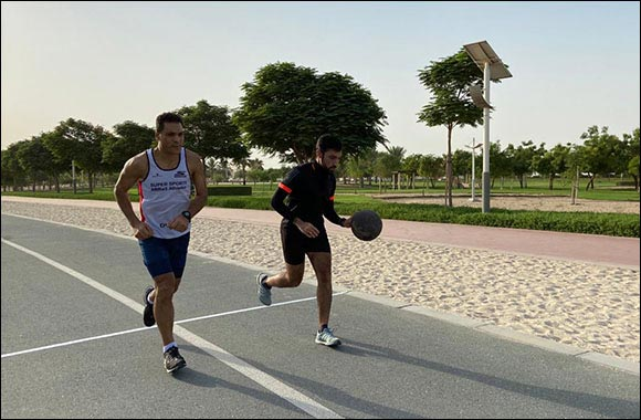 A Pakistani National Dribbles a Basketball for a Mile in Dubai, Bags a Second Guinness World Records™ Title