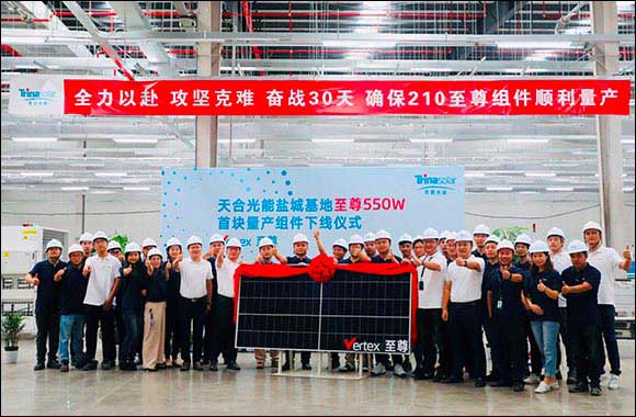 Vertex 550W Modules Go Into Mass Production