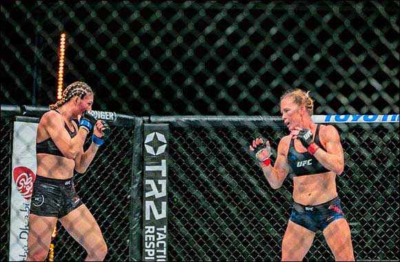 First-Ever UFC Women's Main Event in Abu Dhabi Set to Inspire A New Generation of Female Athletes