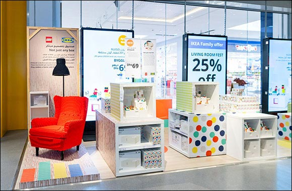 Play, Display and Replay: IKEA® and the LEGO Group's Creation, BYGGLEK, is Now in Stores Across the UAE