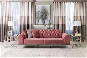 Pink October: SPECTRE 3 SEATER SOFA