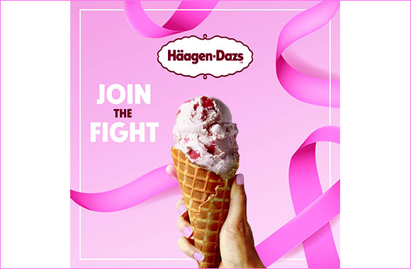 Häagen-Dazs Supports Pink October to Raise Awareness for Breast Cancer
