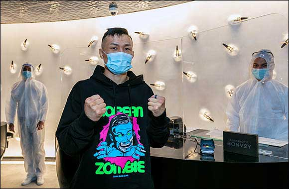 Fighters Arriving to Compete in UFC Fight Night: ORTEGA VS. THE KOREAN ZOMBIE