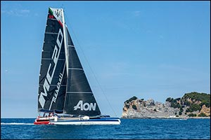 Maserati Multi 70 and Giovanni Soldini are Ready for the Rolex Middle Sea Race