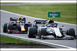 Honda's Verstappen Second in Eifel Grand Prix