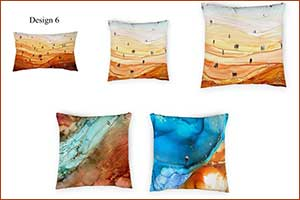 OriginsCollective.com Launches �The Artists� Series Featuring New Art on Cushion and Ottomans Covers