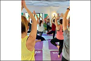 Namaste: Get Your Stretch on with Free Yoga Classes at Festival Plaza