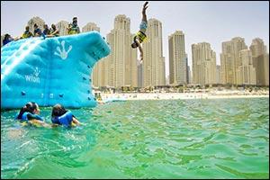 Aqua Challenge Set for Splashing Debut this Weekend