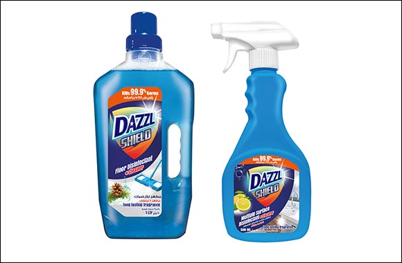 Dabur International Makes Big Push Into Home Cleaning Products Market With the Launch of Dazzl Shield