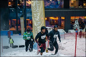 One of Dubai's Coolest Obstacle Race, the Ice Warrior Challenge Takes Place This Friday