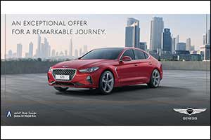 Juma Al Majid Launches Exclusive Year-End Campaign for Genesis G70