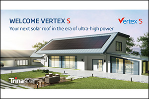 Trina Solar Launches 405W+ Vertex S Module Series with an Expected Capacity of 15GW in 2023