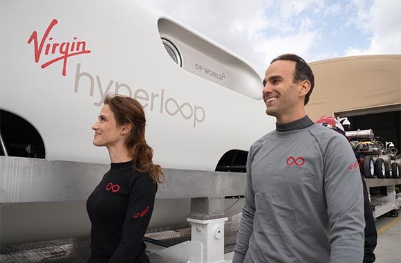 First Passengers Travel Safely on a Hyperloop