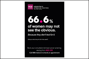 Medcare Hospitals' Breast Cancer Awareness Campaign Unveils How People Can Miss Obvious Symptoms