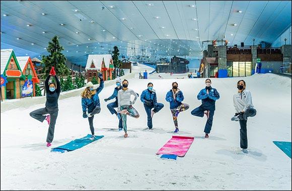 Ski Dubai Warms up for Dubai Fitness Challenge