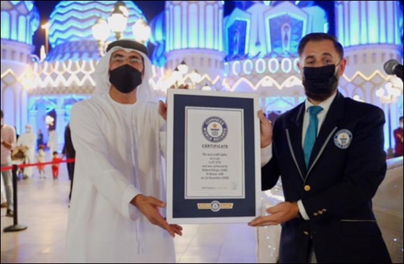 Global Village Scoops Second Guinness World Records™ Title for the Most LED Lights on a Car