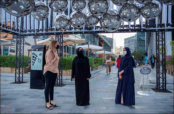 Hala Badri Visits Dubai Design Week