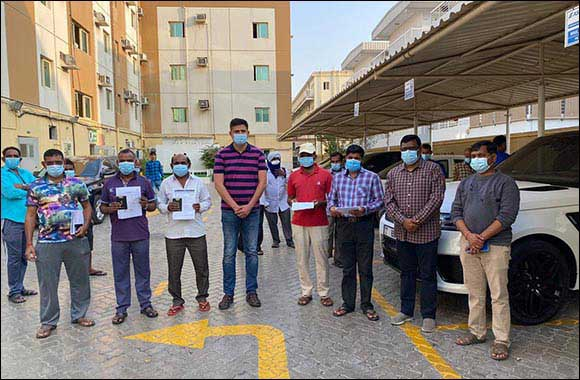 VFS Global Supports the Indian Consulate in Dubai to repatriate stranded workers;  reunited with families in time to celebrate Diwali