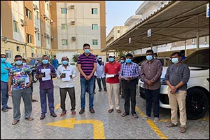 VFS Global Supports the Indian Consulate in Dubai to repatriate stranded workers;  reunited with fam ...
