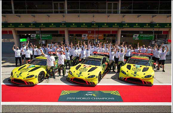 Aston Martin Wins Drivers and Manufacturers' World Championships in 2020