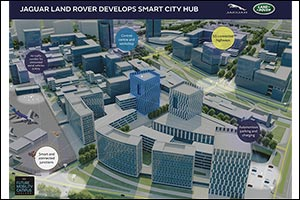 Jaguar Land Rover Develops Smart City Hub to Test Self-driving Vehicle Technology