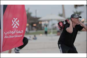 Abu Dhabi University Faculty and Staff Get Active at Al Hudayriat Island's New Sports District