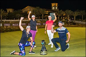 Emily Kristine Pedersen completes miracle �Saudi Slam'! Unstoppable Dane wins both categories of the ...