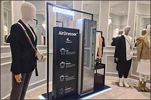 Samsung Invites UAE Consumers to Experience the All New Air Dresser at Galeries Lafayette