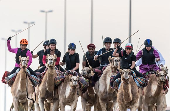 HHC Organises Trial Race ahead of the Camel Trek Marathon for UAE Expats