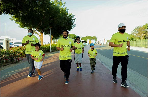 Thousands of Runners Take to the Streets for Dubai Run 2020