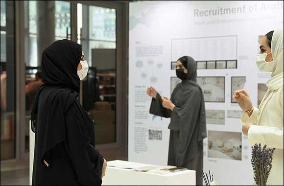 Hala Badri Attends Opening of 2020 showCACE Senior Student Exhibition